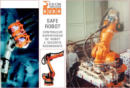 KUKA Safe Robot, Le Contrôleur-superviseur De Robot à