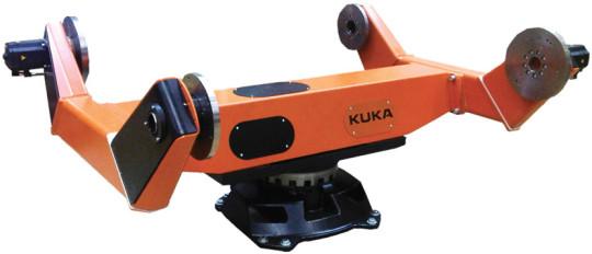 Positionneur, Robot De Soudage Et Logiciel Chez KUKA à Tolexpo