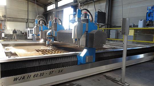 lorient laser industrie découpe laser-jet eau