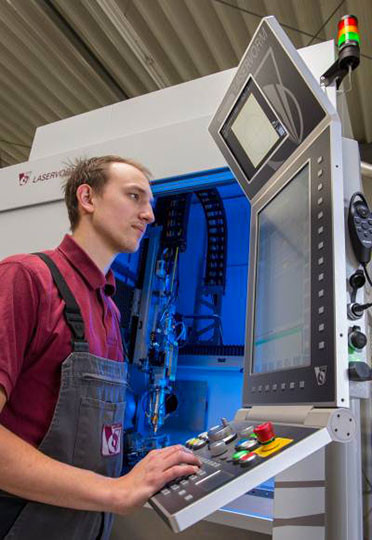 machine soudure laser