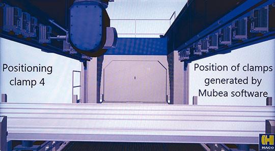 centre usinage aluminium portique