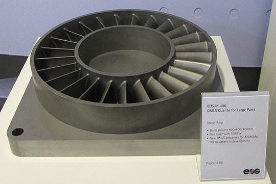 piece complexe fabrication additive