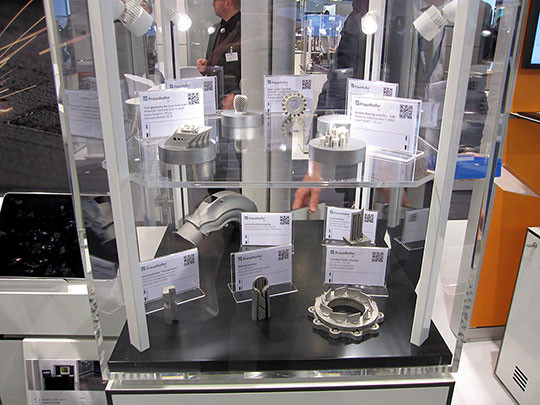 piece fabrication additive metallique