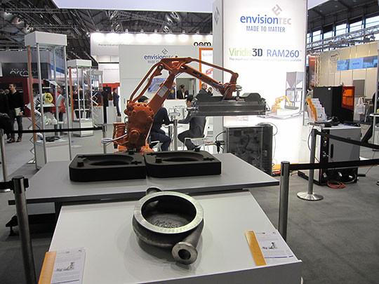 fonderie rapide robotisee