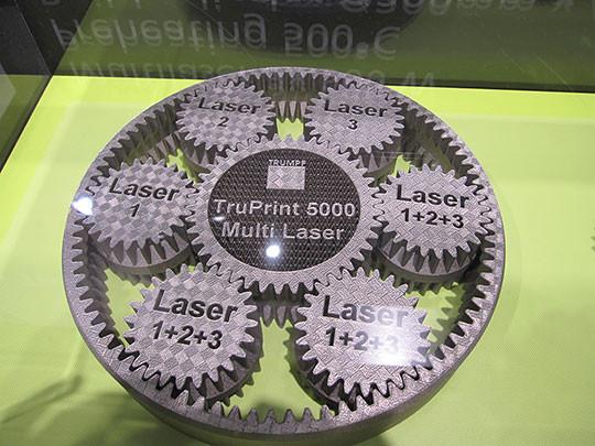 machine fabrication additive TruPrint