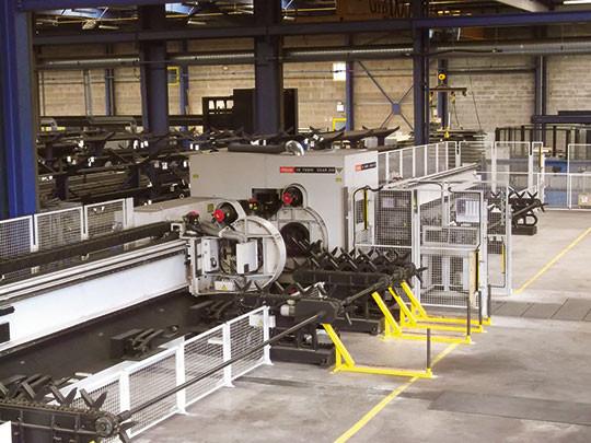 machine laser tube