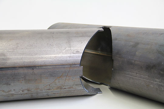 decoupe laser tube