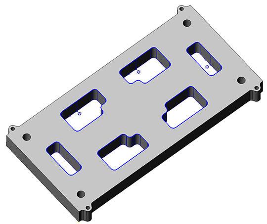 electroerosion matrice plaque