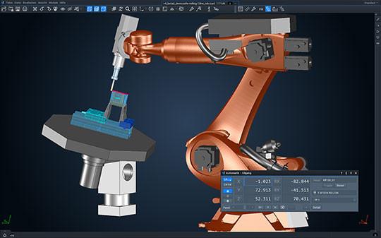logiciel robot 6 axes