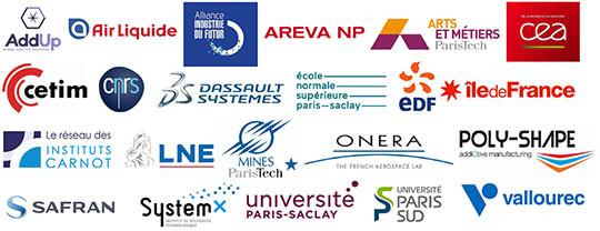 membres partenaires Additive Factory Hub