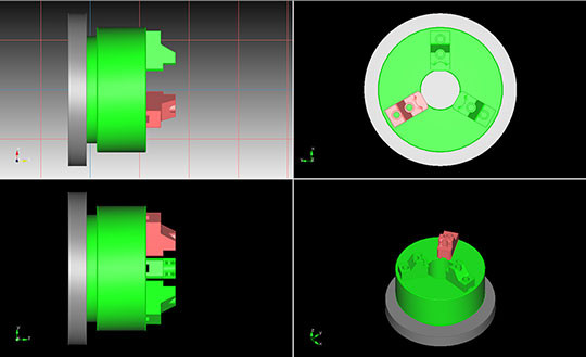 modelisation mandrin usinage