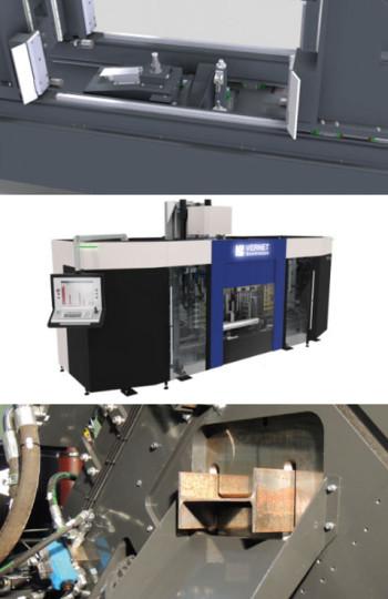 centre usinage profile tube acier vernet hdxevo2