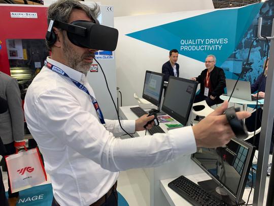 lunette realite virtuelle usinage