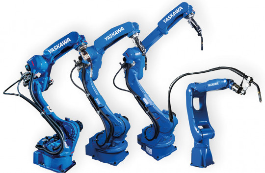 robot precision soudage yaskawa
