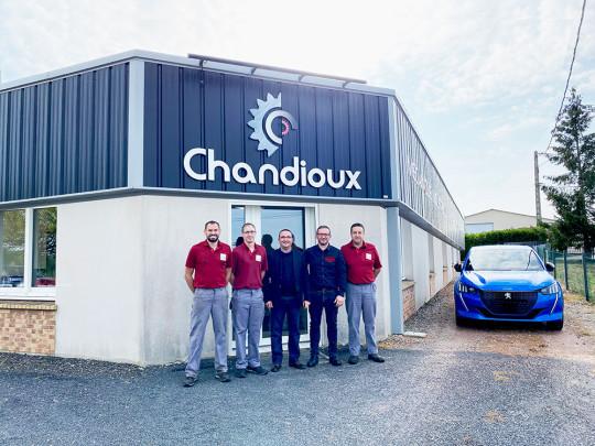 Chandioux tungaloy