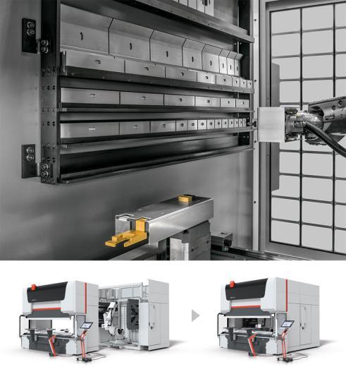 bystronic modular tool changer